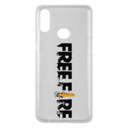 Чехол для Samsung A10s Free Fire spray