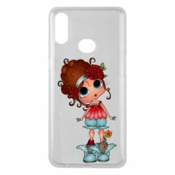 Чехол для Samsung A10s Girl with big eyes