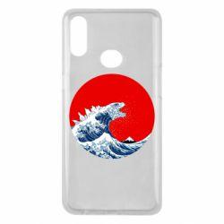 Чохол для Samsung A10s Godzilla Wave