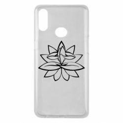 Чохол для Samsung A10s Lotus yoga