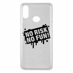 Чохол для Samsung A10s No Risk No Fun
