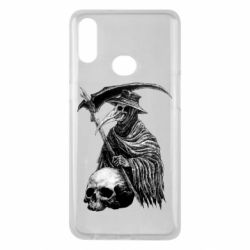 Чехол для Samsung A10s Plague Doctor graphic arts