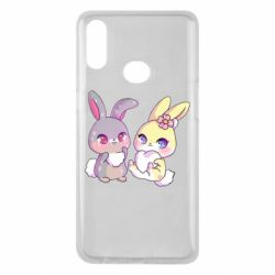 Чохол для Samsung A10s Rabbits In Love