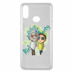 Чохол для Samsung A10s Rick and Morty voodoo doll
