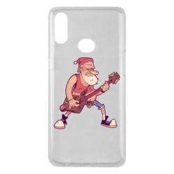 Чохол для Samsung A10s Rock'n'roll Santa