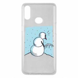 Чохол для Samsung A10s Snowman. It's Cold!