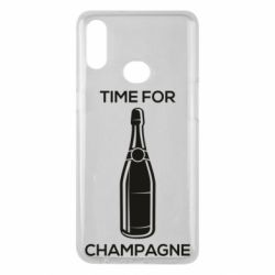 Чохол для Samsung A10s Time for champagne