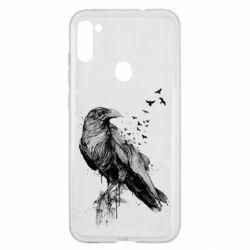 Чохол для Samsung A11/M11 A pack of ravens