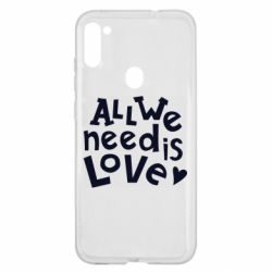 Чехол для Samsung A11/M11 All we need is love