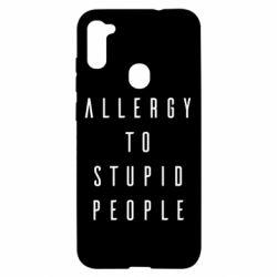 Чохол для Samsung A11/M11 Allergy To Stupid People