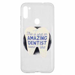 Чохол для Samsung A11/M11 Amazing Dentist