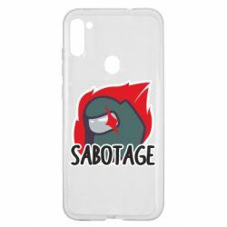 Чохол для Samsung A11/M11 Among Us Sabotage