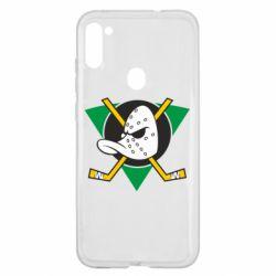 Чехол для Samsung A11/M11 Anaheim Mighty Ducks