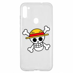 Чохол для Samsung A11/M11 Anime logo One Piece skull pirate