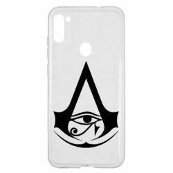 Чохол для Samsung A11/M11 Assassin's Creed Origins logo