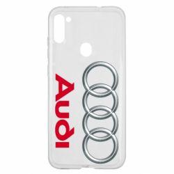 Чохол для Samsung A11/M11 Audi 3D Logo