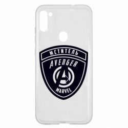 Чохол для Samsung A11/M11 Avengers Marvel badge
