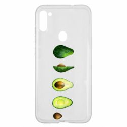 Чехол для Samsung A11/M11 Avocado set