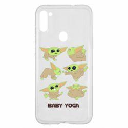 Чехол для Samsung A11/M11 Baby Yoga