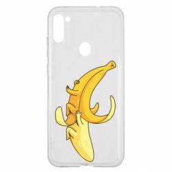 Чохол для Samsung A11/M11 Banana in a Banana