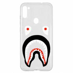 Чехол для Samsung A11/M11 Bape shark logo