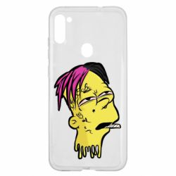 Чехол для Samsung A11/M11 Bart as Lil Peep