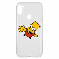 Чехол для Samsung A11/M11 Барт Симпсон