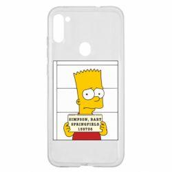Чехол для Samsung A11/M11 Барт в тюряге