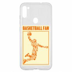 Чохол для Samsung A11/M11 Basketball fan
