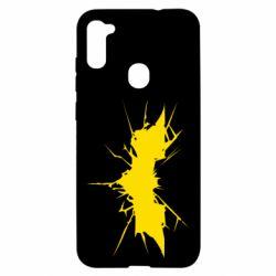 Чохол для Samsung A11/M11 Batman cracks