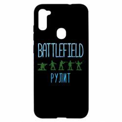 Чохол для Samsung A11/M11 Battlefield rulit