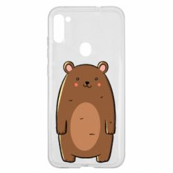 Чехол для Samsung A11/M11 Bear with a smile