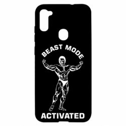 Чехол для Samsung A11/M11 Beast mode activated