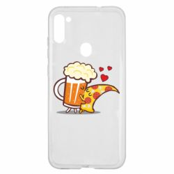 Чохол для Samsung A11/M11 Beer and Pizza were kissed