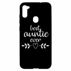 Чохол для Samsung A11/M11 Best auntie ever