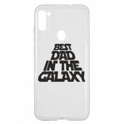 Чехол для Samsung A11/M11 Best dad in the galaxy