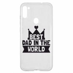 Чехол для Samsung A11/M11 Best dad in the world