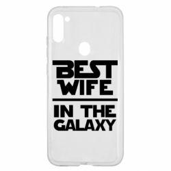 Чехол для Samsung A11/M11 Best wife in the Galaxy