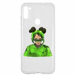 Чохол для Samsung A11/M11 Billie Eilish green style