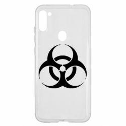 Чехол для Samsung A11/M11 biohazard
