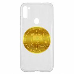 Чохол для Samsung A11/M11 Bitcoin coin
