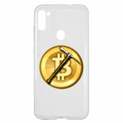 Чохол для Samsung A11/M11 Bitcoin Hammer
