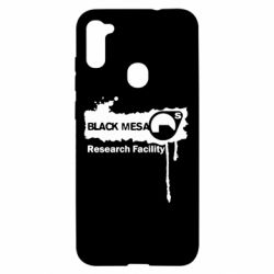 Чехол для Samsung A11/M11 Black Mesa