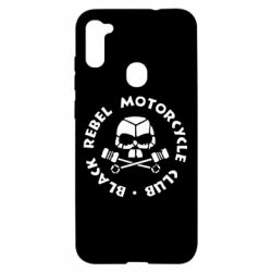 Чехол для Samsung A11/M11 Black Rebel Motorcycle Club