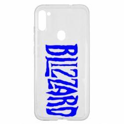 Чохол для Samsung A11/M11 Blizzard Logo