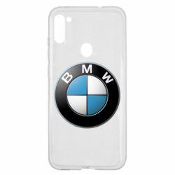 Чехол для Samsung A11/M11 BMW Logo 3D