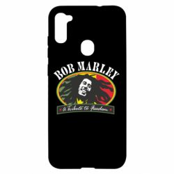 Чехол для Samsung A11/M11 Bob Marley A Tribute To Freedom