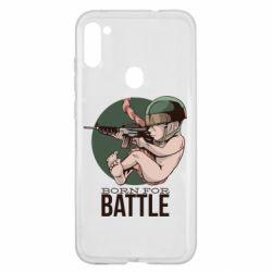 Чехол для Samsung A11/M11 Born For Battle
