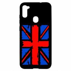 Чехол для Samsung A11/M11 Британский флаг