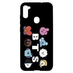 Чохол для Samsung A11/M11 Bts emoji